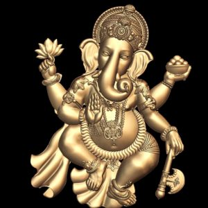 3d STL Model for CNC Lord Ganesha (10)