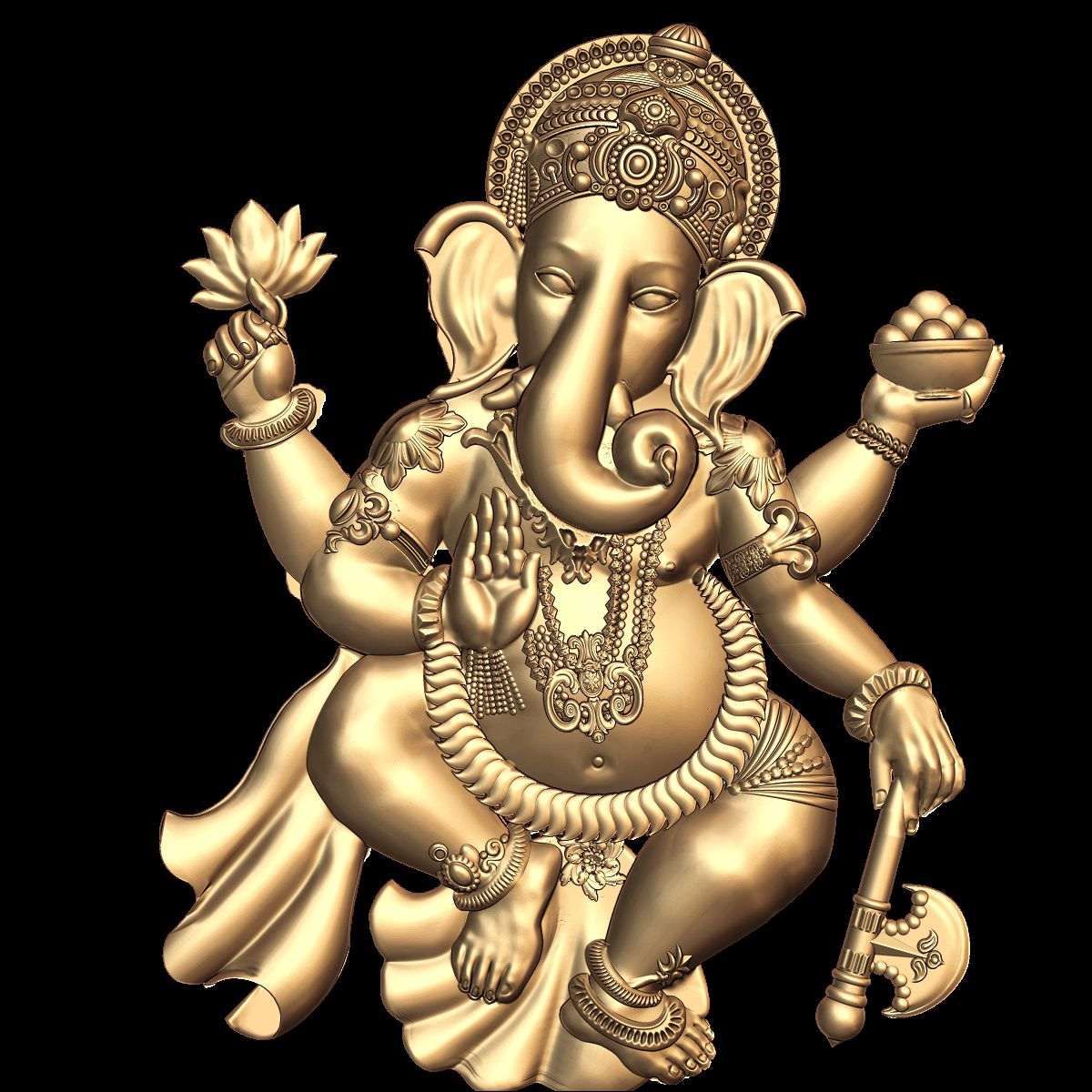 3d stl model for cnc lord ganesha 10 3d stl models for cnc