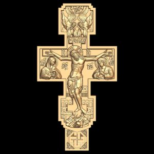 3d STL Model for CNC Religion Cross (202)
