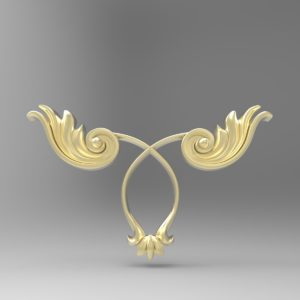 3d STL Model for CNC Decor Element (224)