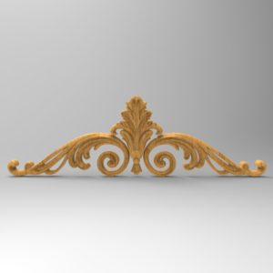 3d STL Model for CNC Decor Element (686)