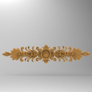 3d STL Model for CNC Decor Element (690)