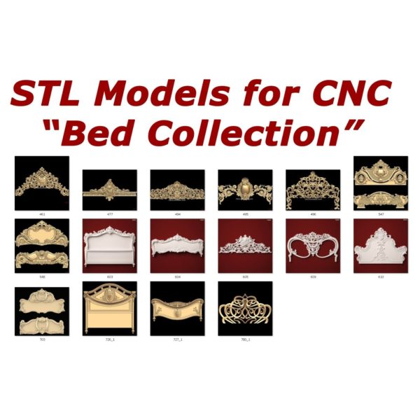 bed collection for cnc routers