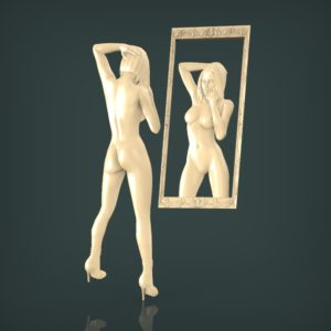 3d STL Model for CNC and 3d Printer Bas-Relief 1001