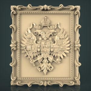 3d STL Model for CNC and 3d Printer Bas-Relief 1049