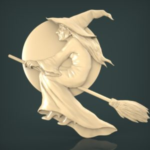 3d STL Model for CNC and 3d Printer Bas-Relief 1071
