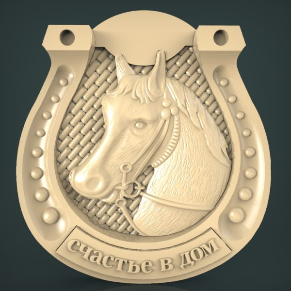 3d STL Model for CNC and 3d Printer Bas-Relief 1074