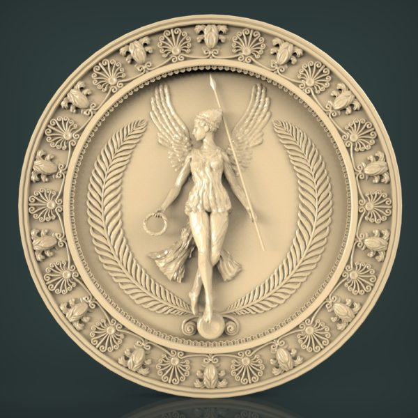 3d STL Model for CNC and 3d Printer Bas-Relief 1083