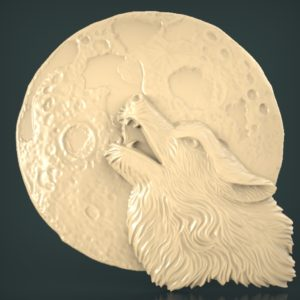 3d STL Model for CNC and 3d Printer Bas-Relief 1115