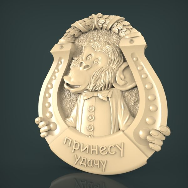 3d STL Model for CNC and 3d Printer Bas-Relief 1121