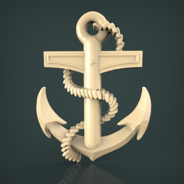 3d STL Model for CNC and 3d Printer Bas-Relief 1124