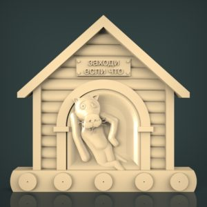 3d STL Model for CNC and 3d Printer Bas-Relief 1131