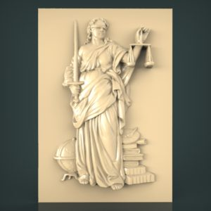 3d STL Model for CNC and 3d Printer Bas-Relief 959