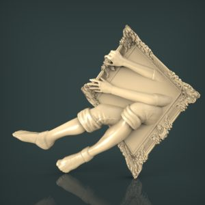 3d STL Model for CNC and 3d Printer Bas-Relief 986