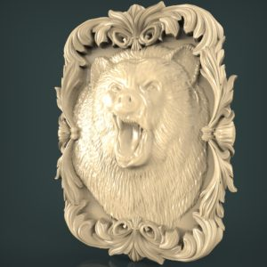 3d STL Model for CNC and 3d Printer Bas-Relief 991