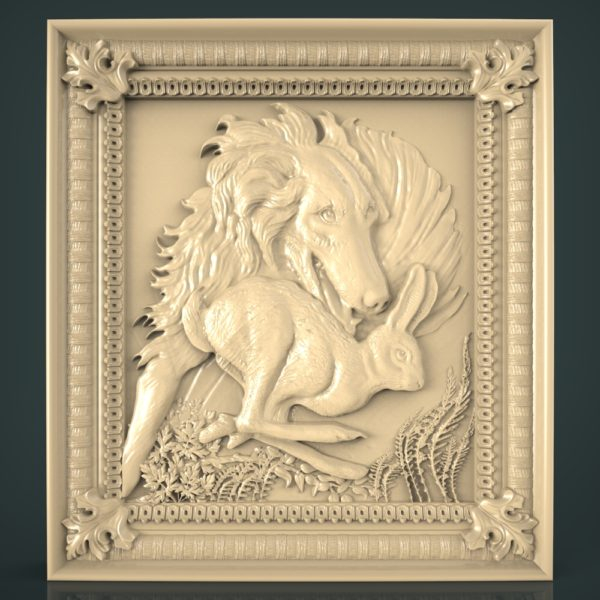 3d STL Model for CNC and 3d Printer Hunting 1240