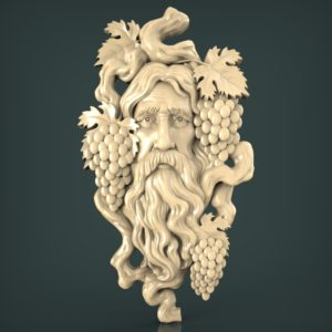 3d STL Model for CNC and 3d Printer Bas relief 1376