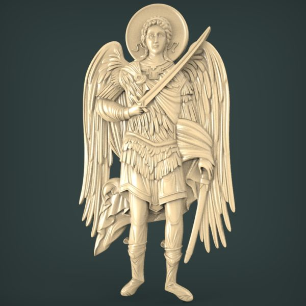 3D STL Model for CNC and 3d Printer - Angel