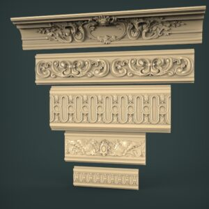 3D STL Model for CNC and 3d Printer - Moulding